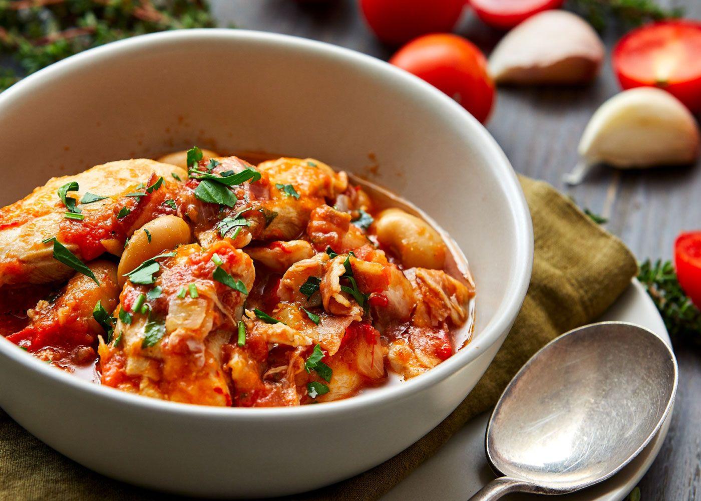 Chicken, pancetta + butter bean cassoulet
