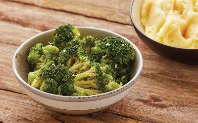 Broccoli w garlic oil