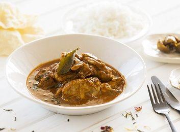 Chicken + lentil curry w basmati rice
